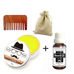 3pcs Gentlemen's Beard Care Set