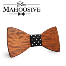 Casual Wooden Bow Tie