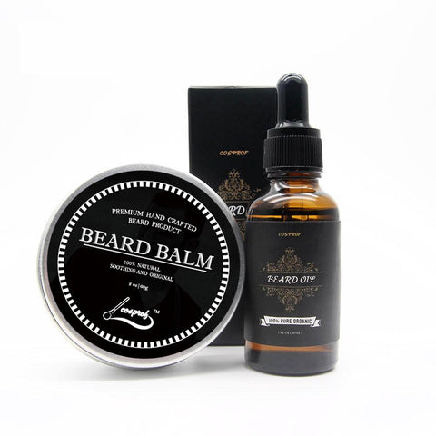 100% Natural Beard Balm & Moustache Cream Set
