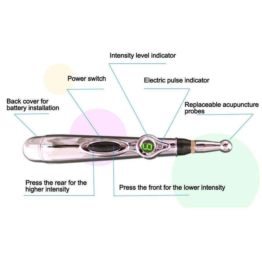 Electronic Acupuncture Pen *No Needles Needed*