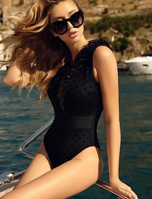 Bandeau One-Piece Swimwear