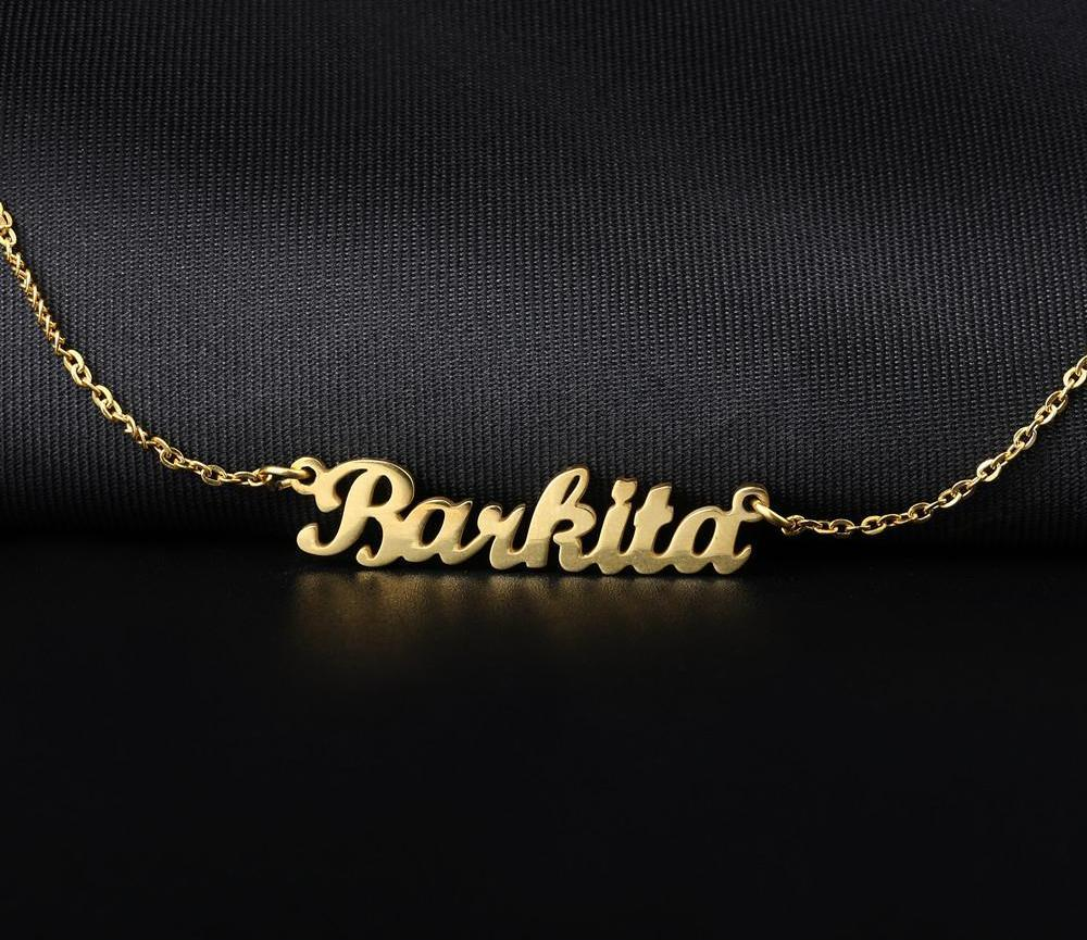 Personalized 14K Necklace