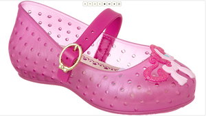 World Colors -Pink Pony Jelly shoe