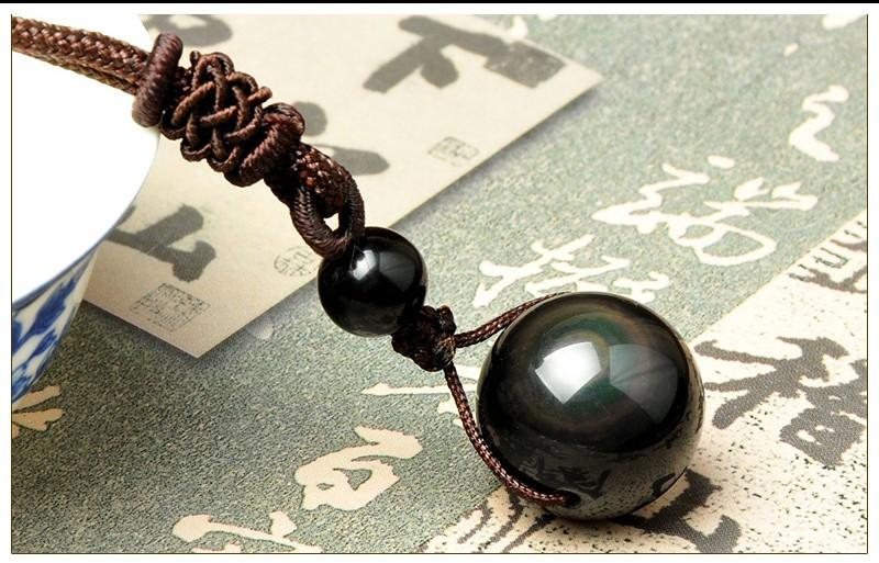 Magic Obsidian Necklace