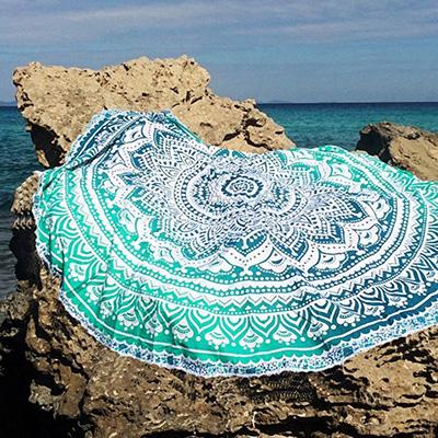 Turquoise Bohemian Beach Cover