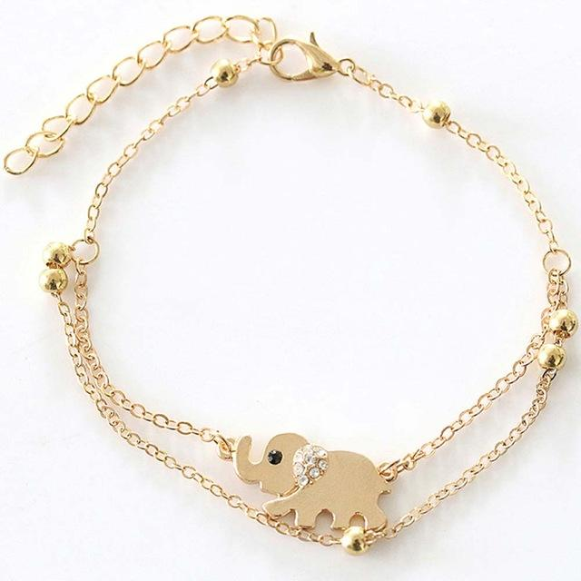 Baby Elephant Anklet