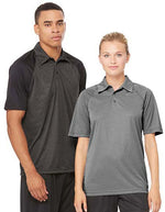 Unisex Performance 3-Button Raglan Polo - outdoorchamp.de