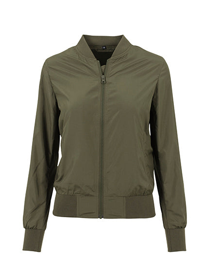 Ladies Nylon Bomber Jacket - outdoorchamp.de