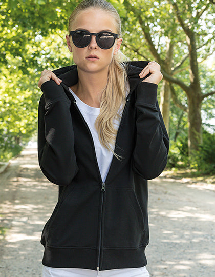 Ladies Terry Zip Hoody