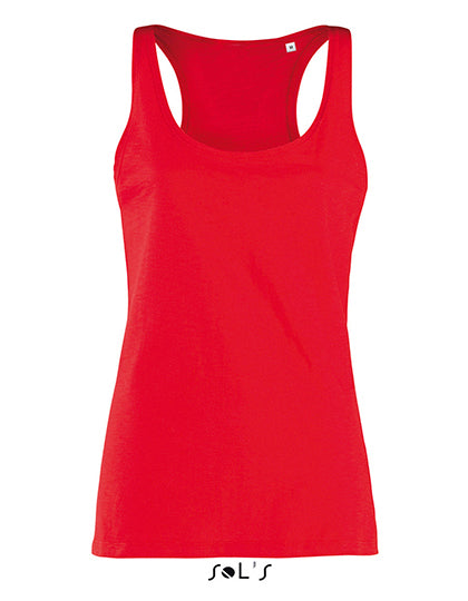 Women Saint Germain Slub Tank Top - outdoorchamp.de