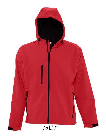 Hooded Softshell Jacket Replay- outdoorchamp
