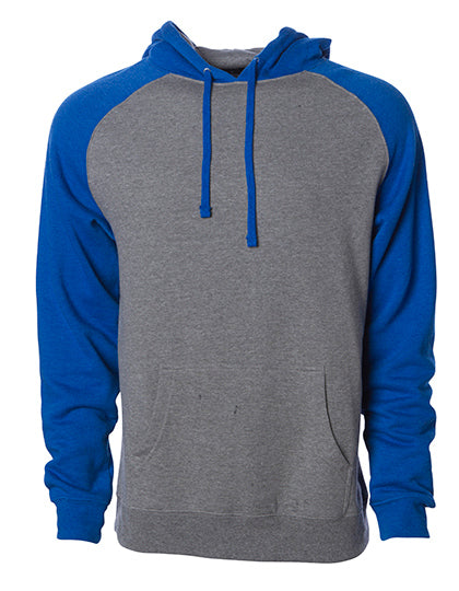 Men's Lightweight Raglan Hooded Pullover