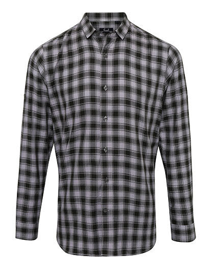Mens Mulligan Check Cotton Long Sleeve