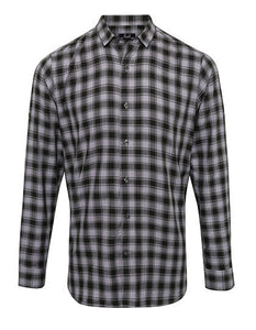Mens Mulligan Check Cotton Long Sleeve- outdoorchamp