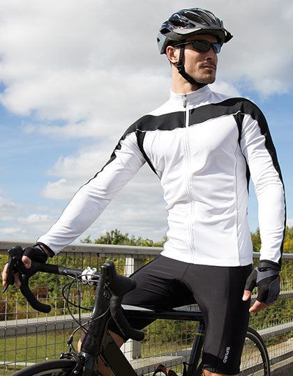Mens Bikewear Long Sleeve Performance Top - outdoorchamp.de