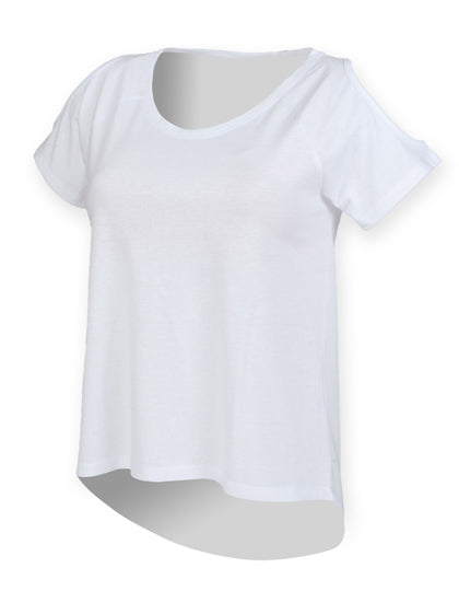 Ladies Drop Tail T- outdoorchamp
