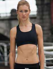 Ladies Work Out Cropped Top - outdoorchamp.de