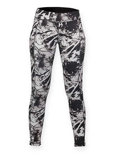 Ladies Reversible Work-Out Leggings- outdoorchamp