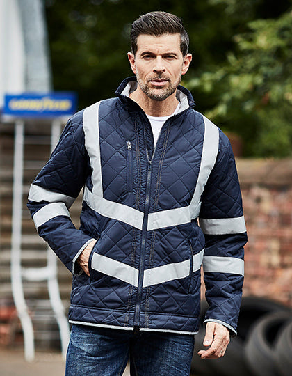 Hi Vis Kensington Jacket (with Fleece Lining), - outdoorchamp.de