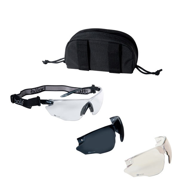 Schutzbrille Set, Combat - outdoorchamp.de