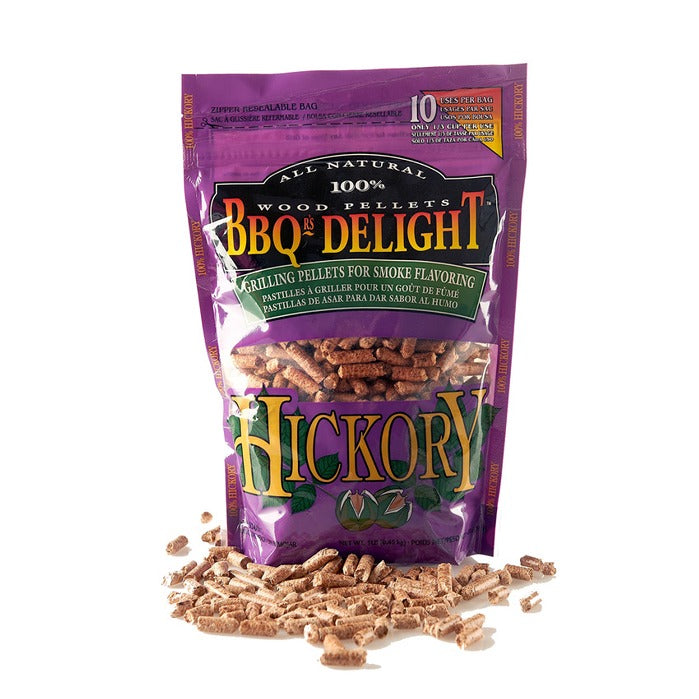 Pellets BBQ Delight Hickory- outdoorchamp