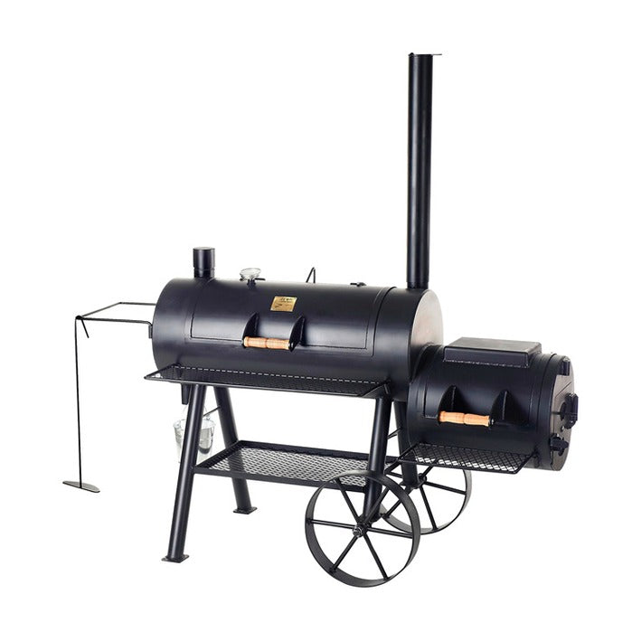 "Smoker JOE´S BBQ 16"" Reverse Flow, lange Version"