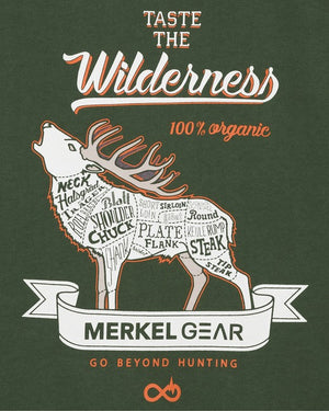 Merkel Gear, T-Shirt Organic-Stag- outdoorchamp