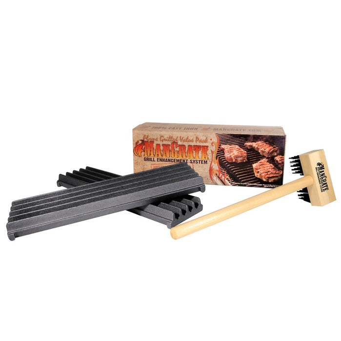 BBQ ManGrate Starter-Set, 3tlg - outdoorchamp.de