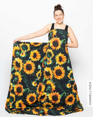 Jersey, Sunflower - black