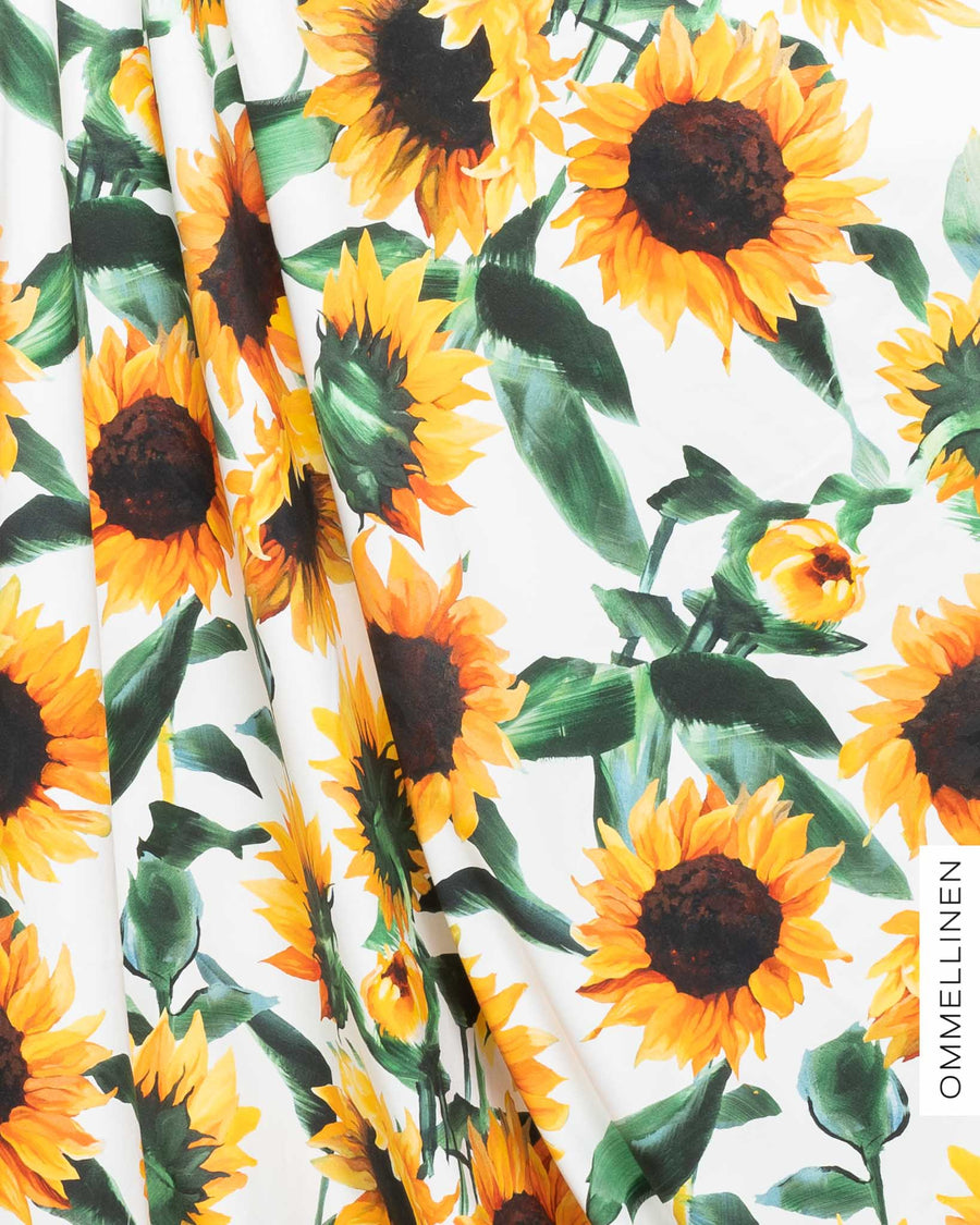 Jersey, Sunflower - white