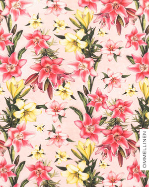 Jersey, Blooming lilies - soft pink
