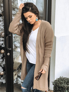 Walk With Me Cardigan [Beige]