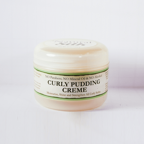 Natural Silk Curly Pudding Creme