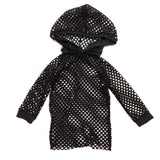Pullover Mesh Hoodie Shirt for Layering Unisex Boys Girls