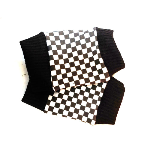 Checkered Gloves for kids Checkerboard