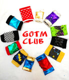 Glove  of the Month Club GOTM Fingerless gloves subscription box