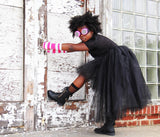 Pink Stripes Arm Warmers - Steampunk-Wolf-Kidz
