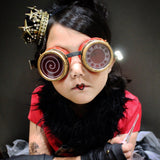 Basic Steampunk Goggles for Kids, Teens and Adults - Steampunk-Wolf-Kidz