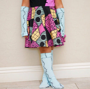 Sally Legs Knee Socks for Halloween Girls Boys