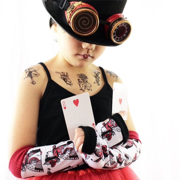 Red Queen in Wonderland Steampunk Goggles - Steampunk-Wolf-Kidz