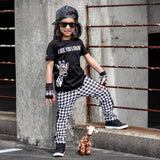 Houndstooth Hipster Leto Pants for boys girls unisex fashion