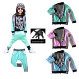 Pastel Jackets for boys and girls, checkerboard pastels unisex vegan fashion