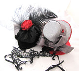 Mini Top Hats for Halloween Costumes Cosplay
