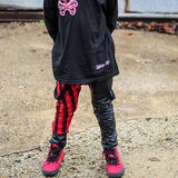 Plaid Jack Skull Pants and Hat set for Kids - Steampunk-Wolf-Kidz
