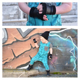 Leather Kids Playground Gloves - Steampunk-Wolf-Kidz