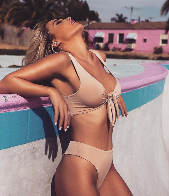 'Honey Sunrise' Bikini Set
