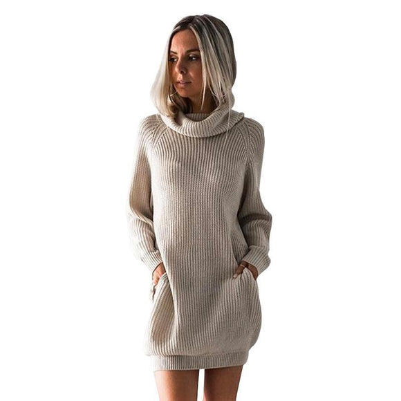 City Cloud Knitted Pullover with Pockets
