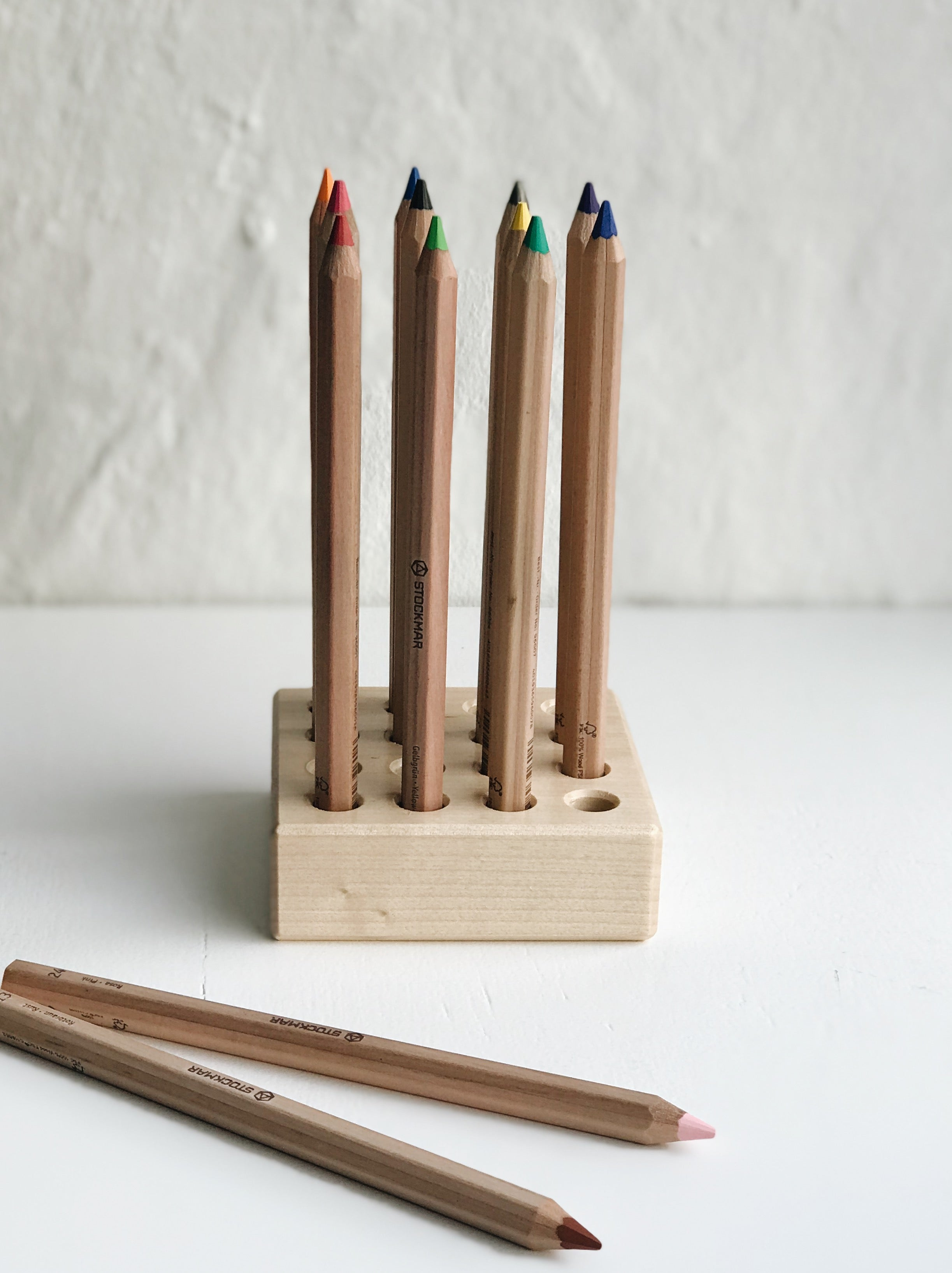 Stockmar Pencil Holder, for 16 large pencils
