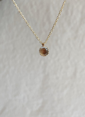 Large Moonstone Necklace