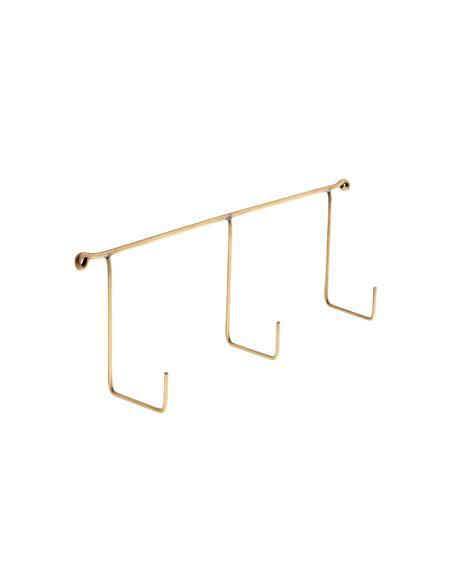 Brass Triple Hook